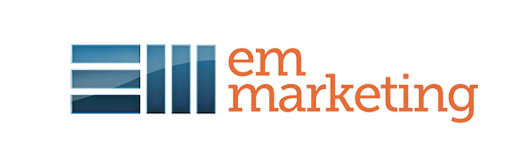 EM Marketing logo